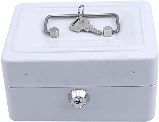 L_shop - Caja de Seguridad portátil para Guardar Dinero, Joyas o ...