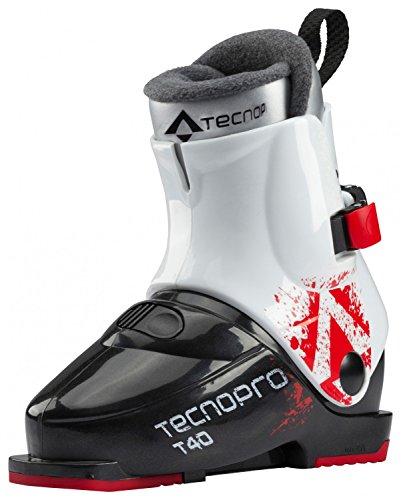 Tecnopro Ski-Stiefel T40 - schw/weiss/rot, Größe:24.5