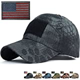REDSHARKS Snake Camouflage Baseball Cap Hunting Shooting Tactical Military Army Camo Hat Gray