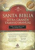 RVR 1960 Bíblia Letra Grande Tamaño Manual con Referencias, negro imitación piel (Spanish Edition)