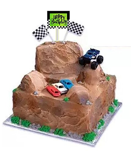Monster Truck Cake Topper Cake Decoration Topper -