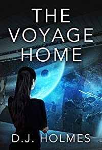 The Voyage Home by D. J. Holmes ebook deal