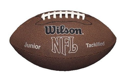 Wilson NFL MVP Junior Football, Brown (Sporting Goods compare prices)