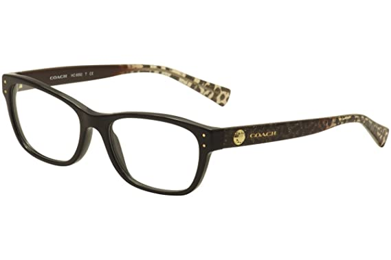 73383071cc Coach Women s HC6082 Eyeglasses Black Wild Beast 51mm at Amazon ...