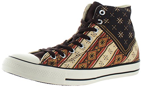 cheap discount for sale cheap authentic Converse Womens Chuck Taylor All Star Femme Plus Star HI Trainers Burnt Umber/Fire Brick/Willow ROggBq9s