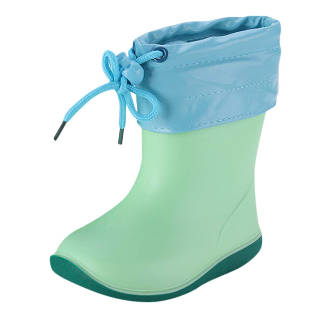 Botas de Agua Ligera Niños Niñas-Zapatillas con Suela Goma y ...