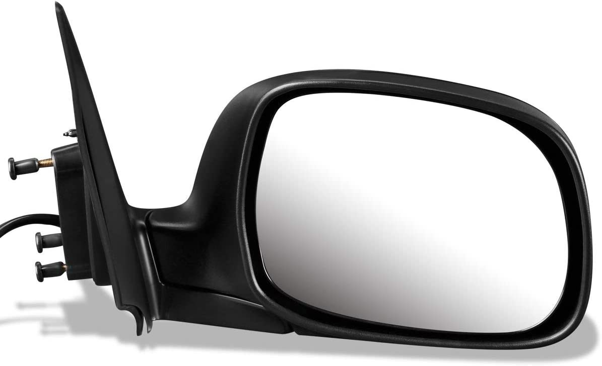 DNA Motoring OEM-MR-TO1321192 Factory Style Powered+Heated Right Side Door Mirror,Black