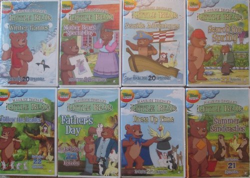 little bear dvd collection - 3