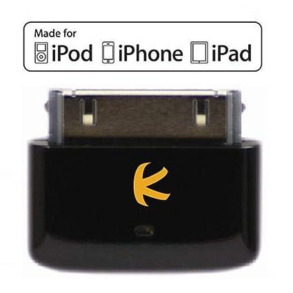 KOKKIA i10s (noir de luxe) - Petit transmetteur iPod Bluetooth compatible  avec iPod/iPhone/iPad