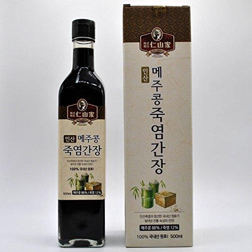 Insan Fermented Soybeans Bamboo Salt Soy Sauce 500 ml