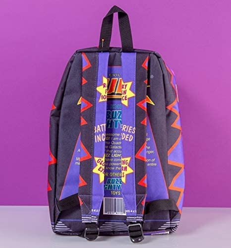 Official Disney Pixar Toy Story Alien Metallic Backpack from Hype