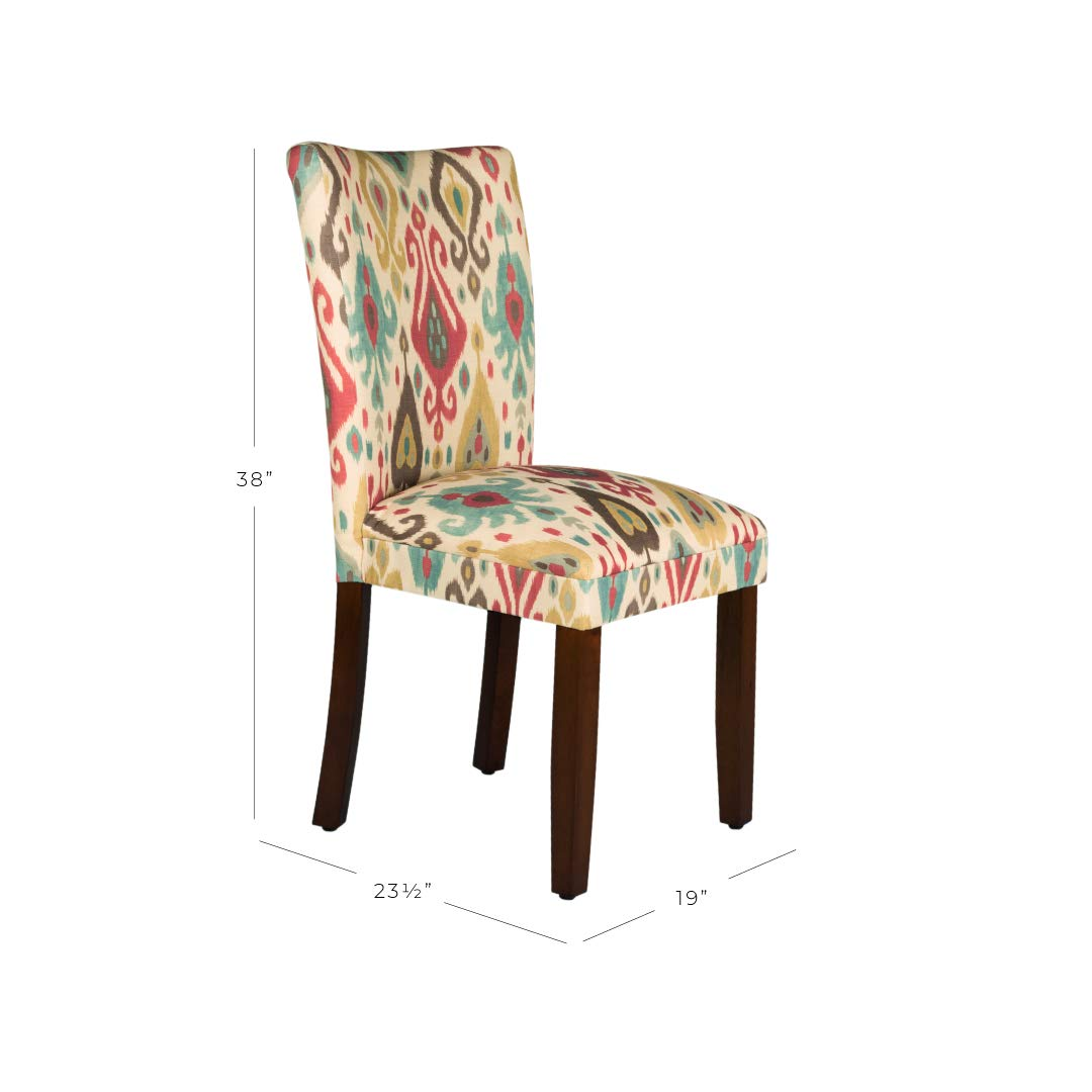 HomePop Parsons Upholstered Accent Dining Chair, Set of 2, Sienna by HomePop (Image #3)
