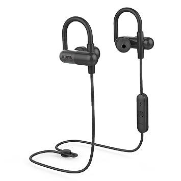 Auriculares Bluetooth JESBOD QY11 Inalámbricos Auriculares Deportivos Bluetooth 4.1 Reducir el Ruido In-ear Estéreo con Mic para Correr y Gym Llamado por ...