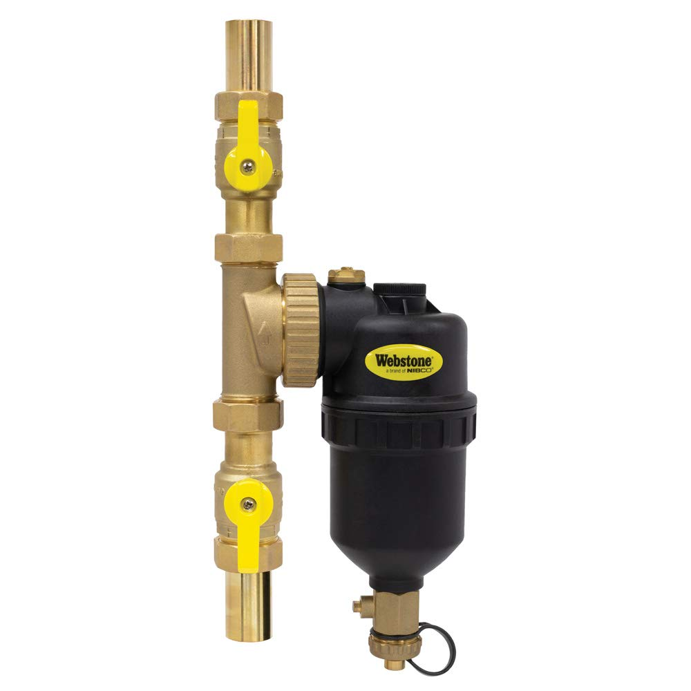 1 SWT BR Magnetic BLR FLTR with ISO Valves