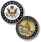 U.S. Senate/U.S CapitolThis coin celebrates the heritage of the U.S. Capitol and salutes the dedication of the members of the Senate throughout American history. The obverse features the Great Seal of the United States. The reverse features the US Ca...
