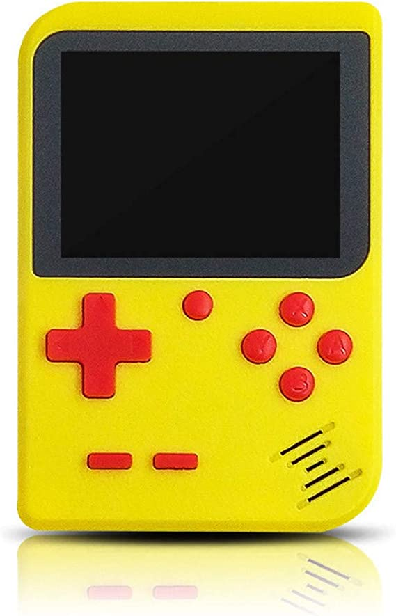 Handheld Game Console Kids Retro Game Console Portable Built-in 400 Game Gaming System Childrens Tiny Toys Digital