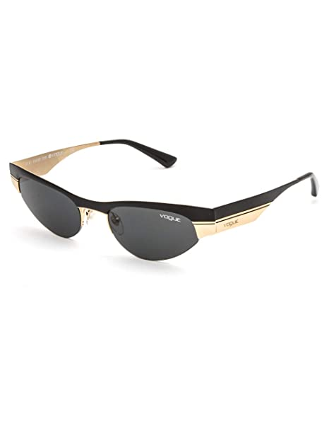da4b5f902a Ray-Ban Women's's 0VO4105S Sunglasses, (Matte Black/Brushed Gold ...