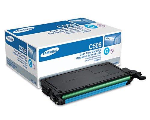 Samsung CLT-C508S OEM Toner - CLP-620ND 670ND CLX-6220FX 6250FX Cyan Toner (2000 Yield) OEM