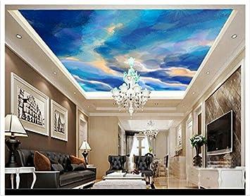 chlwx customized 3d papel pintado 3d techo papel pintado murales ...