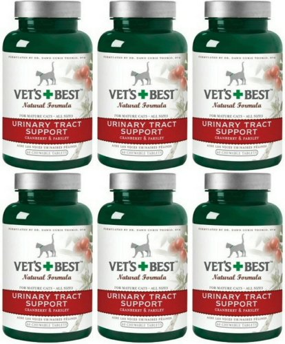 Vet's Best Urinary Tract Support Chewable Tablets 360ct (6 x 60ct) (Support Urinary Tract Tablets 60)
