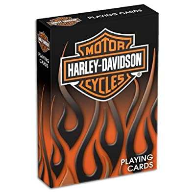 Bicycle Harley Davidson Playing Cards: Toys & Games