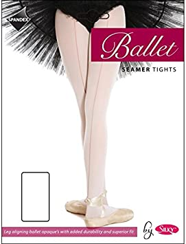 All Sizes Debut Seamed Ballet Tights Pink or White