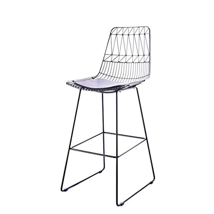 Amazon.com: WBBJBD High Bar Chair, Bar Chair Back Bar Chair ...