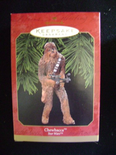 chewbacca chewy hallmark star wars christmas ornament - Chewbacca Christmas Ornament