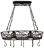 Kenroy Home 90308BRZ Twigs Pot Rack Light