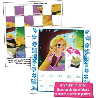 Invisible Ink Lee Publications Disney Tangled 3 in 1 Activity Book: Toys & Games