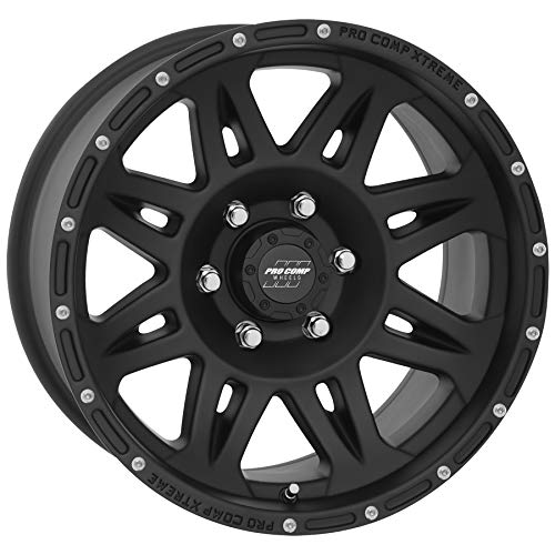 PRO COMP Series 05 Torq Matte Black (17x8 / 6x5.5 / -19mm) (Nissan Wheel Alloy Frontier)