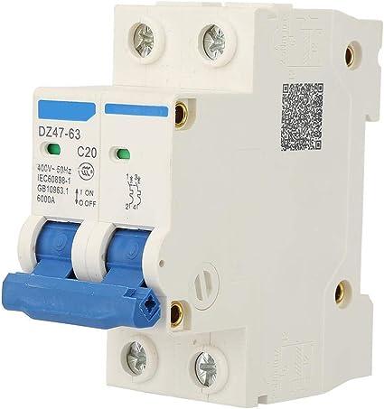63A DZ47-63 4P 6000A Interruttore automatico magnetotermico 400V