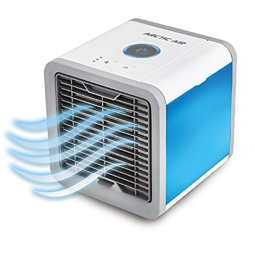 Portable Air Conditioner-Air Cooler-Arctic Air Conditioner-Mini Cooler 3-in-1 Personal Space Air Conditioner&humidifier & purifier with 7 Colors LED Lights,Silent Technology low noise,Perfect for Offi by CALOPS