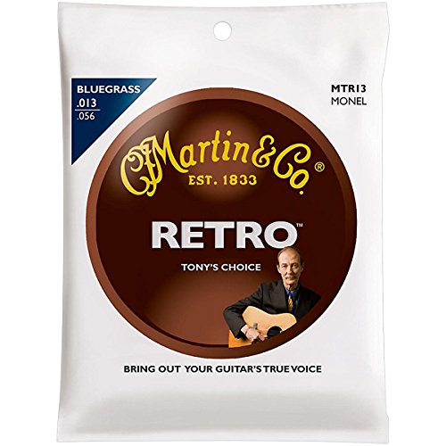 Strings Guitar Bluegrass (Martin - MTR13 - Tony Rice Bluegrass Acoustic Guitar Strings.013-.056)