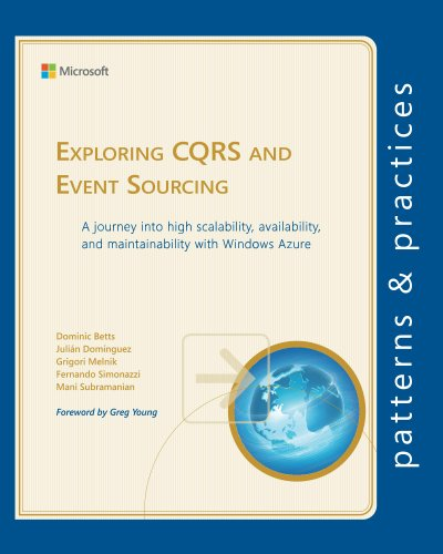 Exploring CQRS and Event Sourcing (Microsoft patterns & - Exploring Pattern