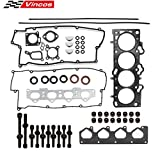 #8: Cylinder Head Gasket Set with Head Bolts Fits For 02-09 Kia Spectra Sportage Hyundai 2.0 16V