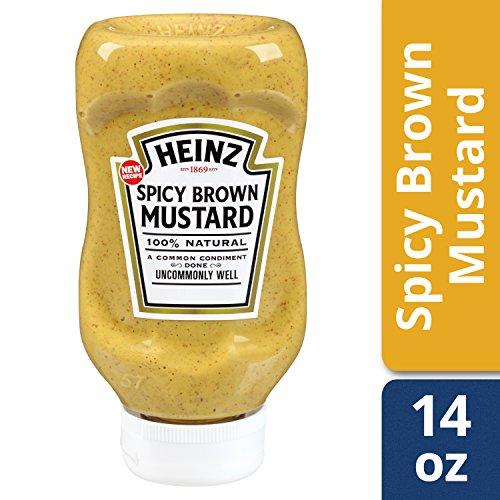 Heinz Spicy Brown Mustard (14 oz Bottles, Pack of 6) (Best Spicy Brown Mustard)