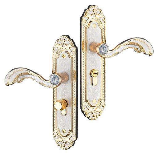 Baoblaze Aluminum Door Handle Sets Lever LATCH LOCK BEDROOM BATHROOMPRIVACY PACKS #2 by Baoblaze (Image #10)