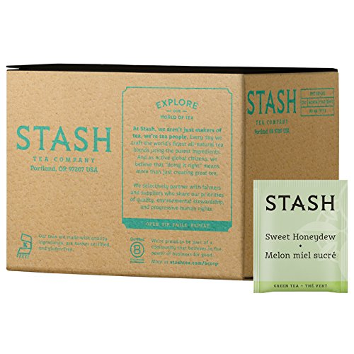 Stash Tea Sweet Honeydew, 100 Teabags (Green Melon Tea Tea)