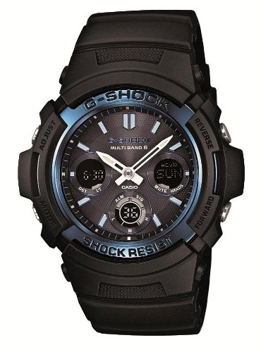 CASIO G-SHOCK Tough Solar Radio Controlled MULTIBAND 6 AWG-M100A-1AJF (Japan Import) by Casio