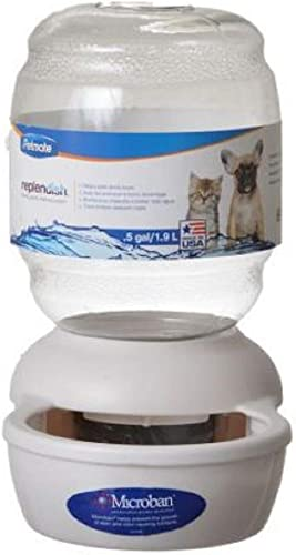 Petmate-Replendish-Gravity-Waterer-w/-Microban