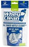 Cheap WheyClean: The Shaker Bottle Cleaner – Portable Spongless Bottle Cleaner, Perfect for Cleaning Protein Shaker Bottles, Plastic Bottles, Stainless Steel Water Bottles – 12 Pack