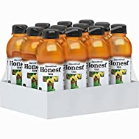 Honest Tea (Organic Unsweet Lemon Tea, 16.9-Ounce Bottle, Pack of 12)