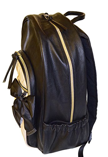 Betsey Johnson Be Mine Mine Backpack Black Bone Multi