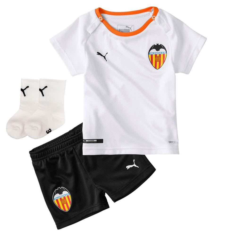 PUMA Bebe Valencia CF Primera Equipación 2019-2020, Conjunto ...