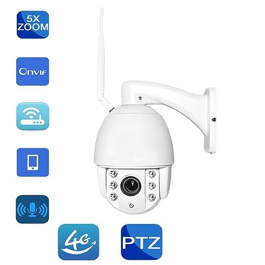 Al Aire Libre HD gsm 3G 4G Tarjeta SIM Cámara IP de Audio ...