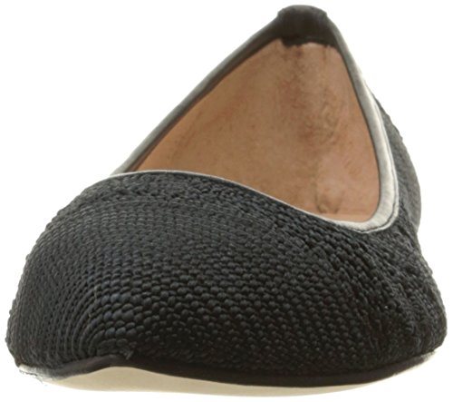 Macrome Ballet Women's FS Black Sole Flat NY French Well AxgqR8nw