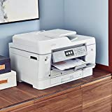 Brother Inkjet Printer, MFCJ6945DW, INKvestment Color Inkjet All-in-One Printer Wireless, Duplex Printing Up to 1-Year Ink in-Box