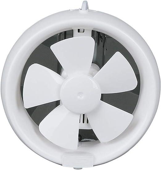 Extractor de humos para cocinas,Extractor de cocina campana extractor de baño,Ventilador extractor doméstico silencioso ventilador de cubierta baño cocina taller,White: Amazon.es: Bricolaje y herramientas