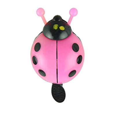 Hot GIRLS NOVELTY LADYBIRD CHILDRENS BIKE BELL KIDS BICYCLE BOYS Suitable
